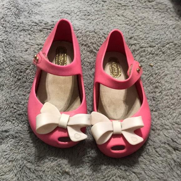 a6279f4119 Pink mini Melissa heels. M_5c6c605ac89e1da3ccf0a00e